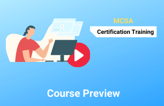 Best MCSA Microsoft certified solution associate Course Training online class institute in trichy